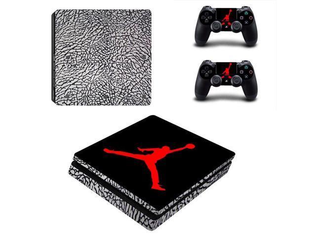 new arrival ca72c 1e0a9 Basketball Legend Michael Jordan PS4 Slim Skin Sticker Cover Decal For  Playstation 4 Slim Console And 2 Controller Skins - Newegg.com