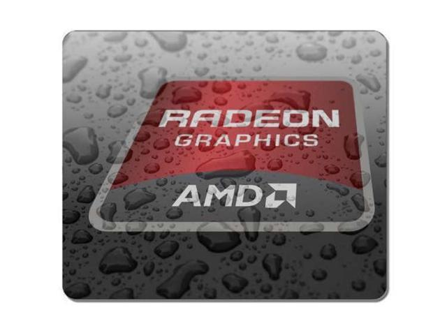 Customized Mousepad Radeon Graphics AMD Gaming Mouse Pad Mouse Mat Size:8
