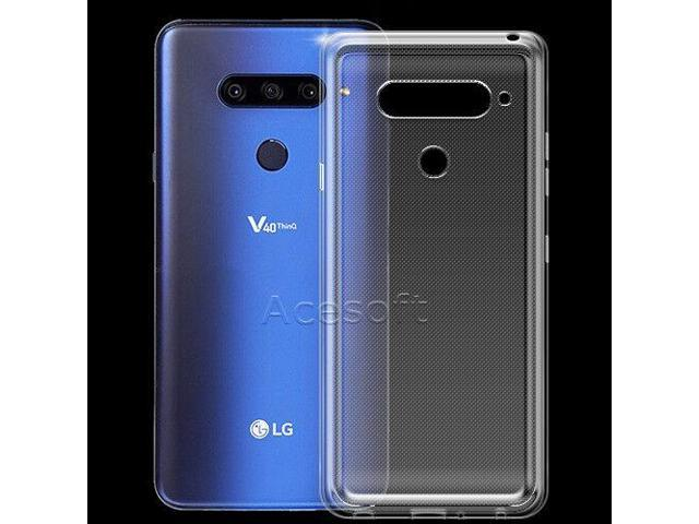 hot sale online f94e4 4379f For LG V40 ThinQ LMV405UA AT&T Phone Dustproof Protective Silicone Case  Cover - Newegg.com