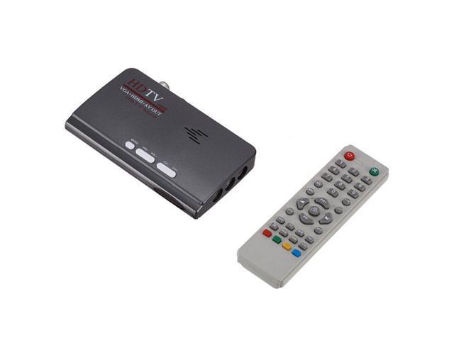 VGA DVB-T2 Digital TV Signal Receiver Decoder Mini TV Set Top Box with  Remote Control Power Adapter - Newegg com