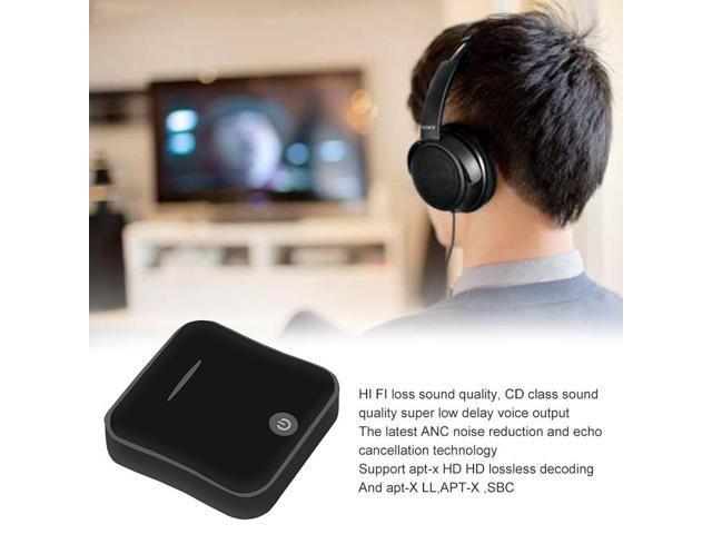 Kebidu 2 in 1 Bluetooth 5 0 Aptx HD Adapter Optical Toslink 3 5mm AUX SPDIF  Stereo Audio Transmitter Receiver for TV Headphones - Newegg com