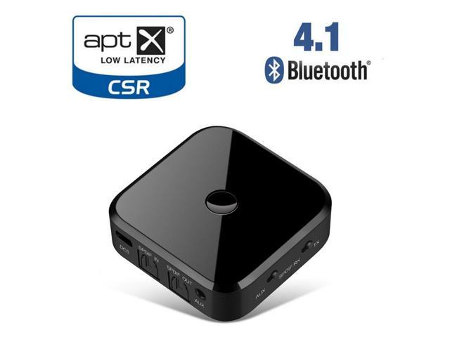 Apt-x lossless Wireless Bluetooth Transmitter Receiver Audio 3 5mm AUX  SPDIF For Smartphone PC TV Headphone - Newegg com