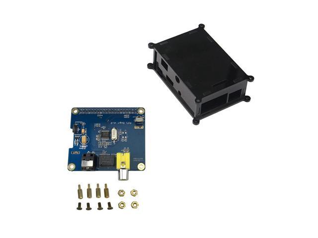 High Quality Raspberry Pi 3 HIFI DiGi I2S SPDIF Digital Sound Card with  Black Acrylic Case for Raspberry Pi 2/Raspberry Pi Zero - Newegg com