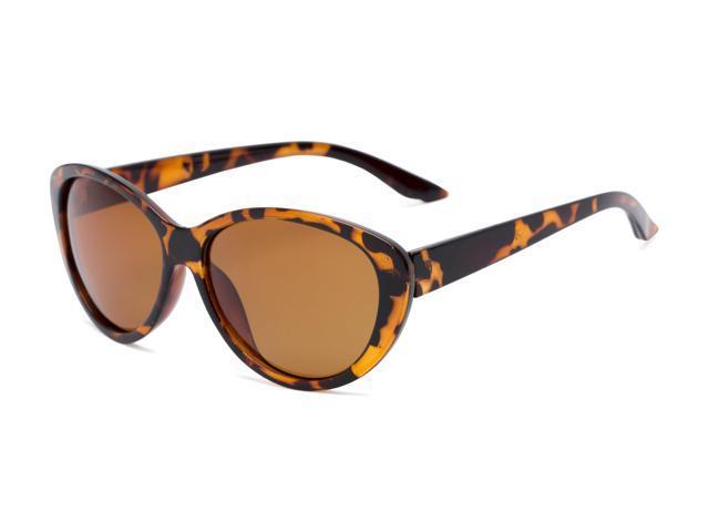 4e6cfa5869 Sunglass Warehouse Petra  1312 Tortoise Frame with Amber Lenses Womens Cat  Eye Sunglasses