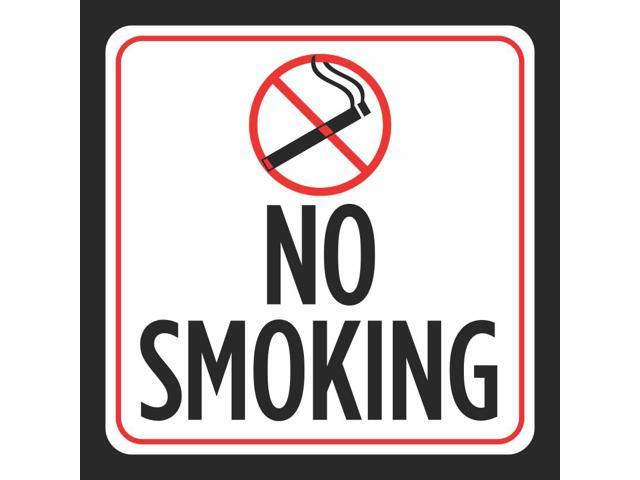 photograph relating to Printable No Smoking Signs named 2 Pack - Aluminum No Smoking cigarettes Print Purple White Black Cigarette Consider Park Window Workplace Office Indicators Meta, 12x12 -