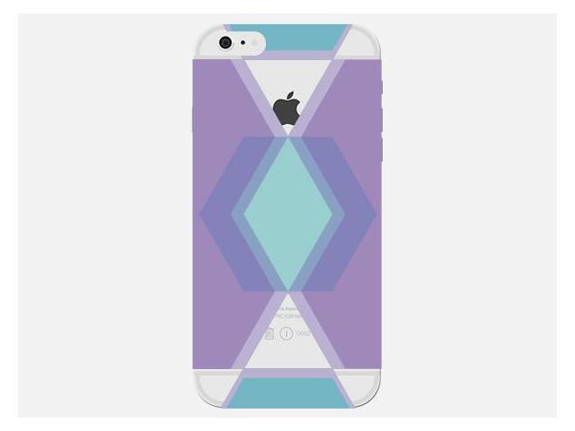 Back cover Purple APPLE iPhone 6s Plus