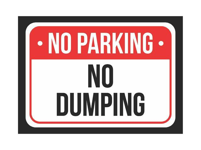 Metal 7.5x10.5 iCandy Products Inc Reserved Parking Designated Guest Business Safety Traffic Signs Black