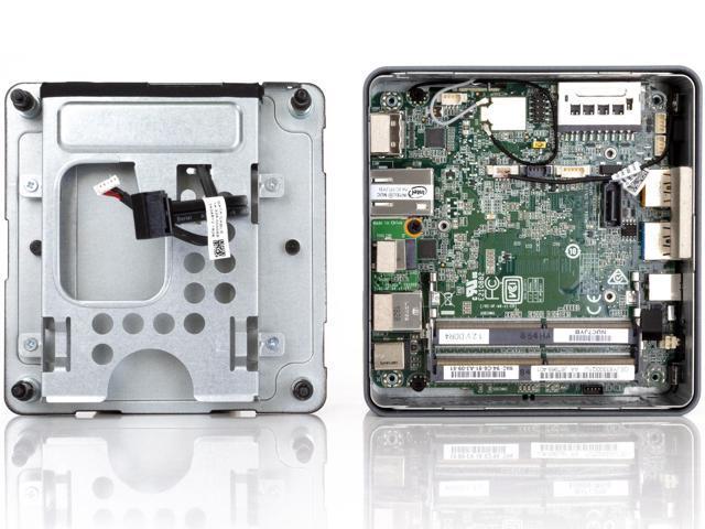 Intel NUC7PJYH Mini PC/HTPC, Intel Pentium Silver J5005 Quad-core Up to  2 8GHz, 4GB RAM, 128GB SSD, WiFi, Bluetooth 5 0, Card Reader, 4K Support,  Dual