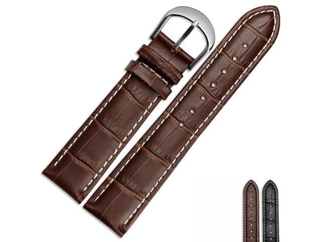 4571b1e78e88b BUREI Leather Watch Band, Genuine Cowhide Replacement Watch Strap For Men  And Women 20mm/22mm Watch Accessories - Newegg.com