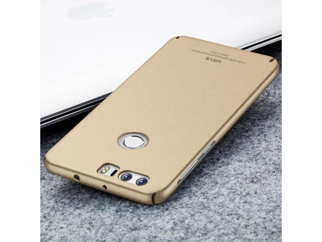 online retailer 773b9 2a7ed Luxury Silm MSVII Brand Huawei Honor 8 Case Silicone Scrub Hard Matte Back  Cover For Fundas Huawei Honor 8 Cell Phone Cases (frosted gold) - ...