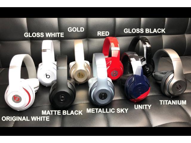 Beats By Dr Dre Studio 2 Wireless Over Ear Noice Cancelling Headphones Gloss Black Newegg Com