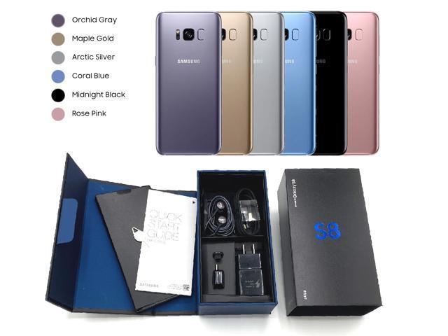 OEM BOX - Samsung Galaxy S8 - Unlocked CDMA / GSM - Black