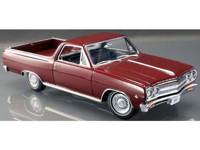 1965 Chevrolet El Camino L 79 Madeira Maroon Limited To 300pc 1 18