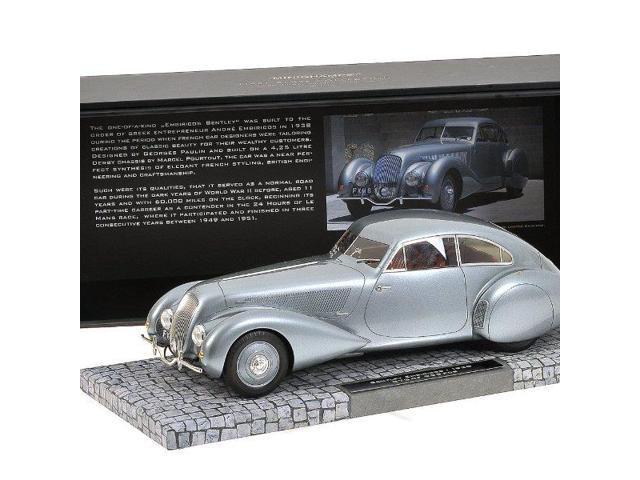 Bentley embiricos 1939 dark grey metallic,1: 18, minichamps