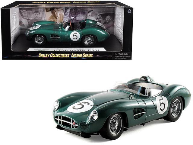 1959 Aston Martin Dbr1 5 Green 1 18 Diecast Model Car By Shelby Collectibles Newegg Com