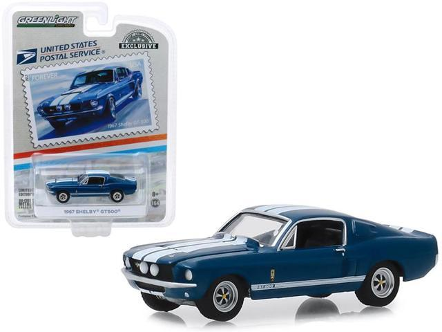 GREENLIGHT HOBBY EXCLUSIVE USPS 1967 SHELBY GT500