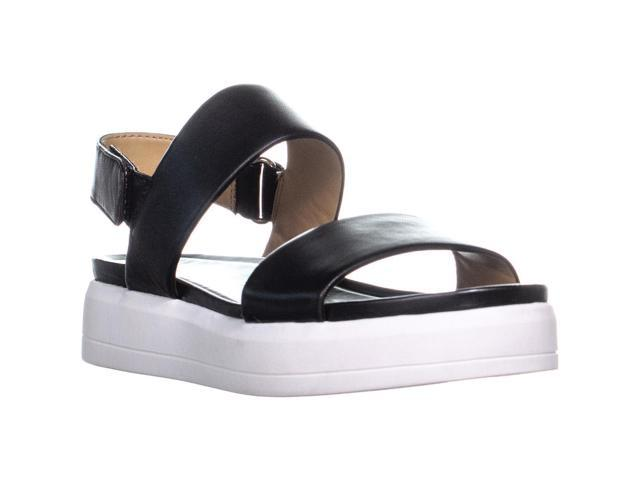 f7de37c68a7 Franco Sarto Kenan Platform Wedge Sandals, Black, 5.5 US / 35.5 EU -  Newegg.ca