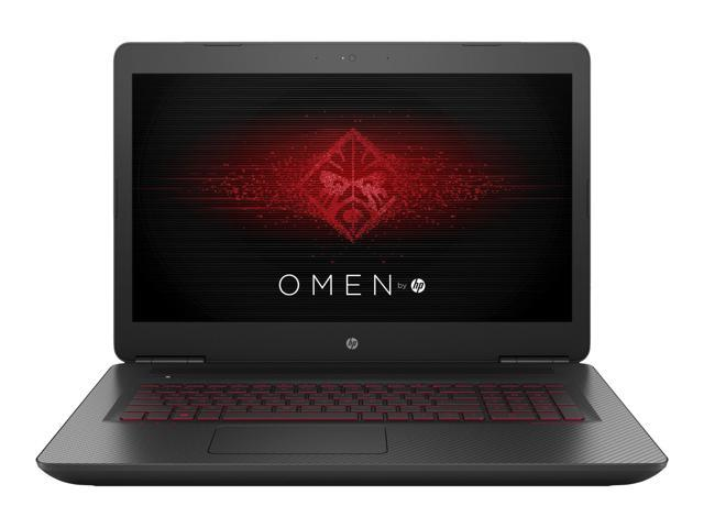 Hp Omen 17 W220nr 17 3 Full Hd Ips Notebook Computer Intel Core I7 7700hq 2 80ghz 12gb Ram 1tb Hdd 128gb Ssd Nvidia Geforce Gtx 1060 6gb Windows 10 Home Newegg Com