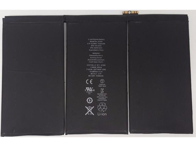 New Replacement Internal Battery for iPad 3 3rd 4 4th Generation 11560mAh
