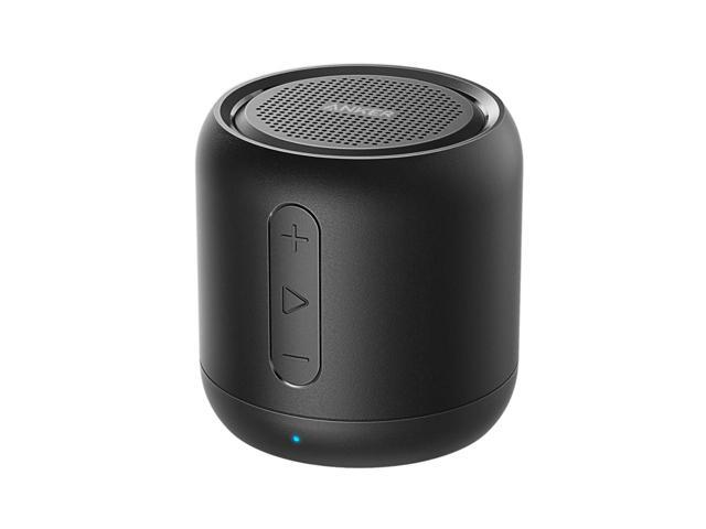 Anker Soundcore Mini Super Portable Bluetooth Speaker With 15 Hour Playtime 66 Foot Bluetooth Range Enhanced Bass Noise Cancelling Microphone Black Newegg Com
