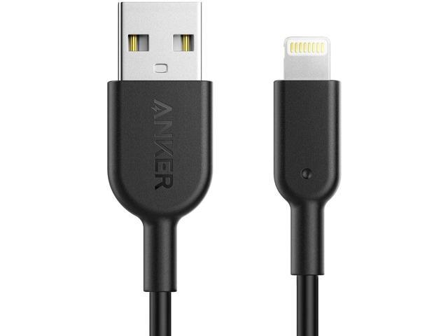 Anker Powerline II Lightning Cable, [3ft Apple MFi Certified] USB ChargingSync Lightning Cord Compatible with iPhone 11 11 Pro 11 Pro Max Xs MAX XR X