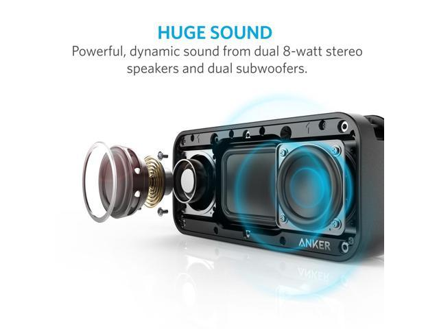 Anker SoundCore Sport XL Portable Bluetooth Speaker with 16W Audio Output  and 2 Subwoofers, IP67 Waterproof & Dustproof, Shockproof, 66ft Bluetooth