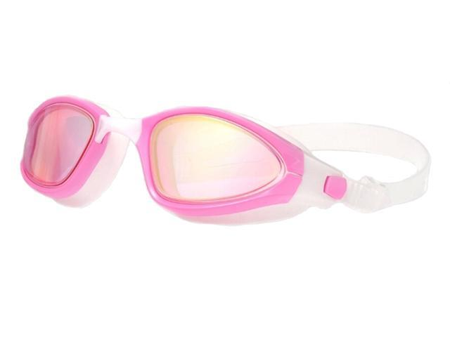 No Leaking Anti Fog Dive Mask with UV Protection Mirrored Clear Lenses for Kids Men Women HETH Swim Goggles