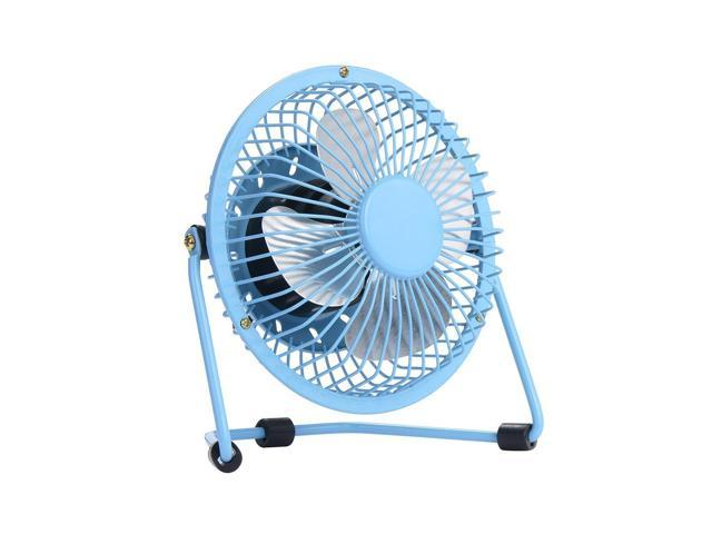 """4/"""" Small//Mini High Velocity Metal USB Room Table//Desk Top Personal Cooling Fan"""