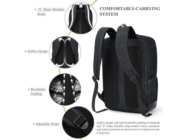 SOCKO Laptop Backpack Knapsack Rucksack Business Travel Hiking Shoulder Bag  Student School College Backpack For 10 - 17 3 Inch Laptop / Notebook /