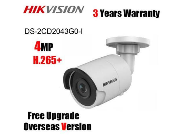 Hikvision Face Detection H.265 IP Camera DS-2CD2043G0-I 4.0MP WDR Bullet Camera