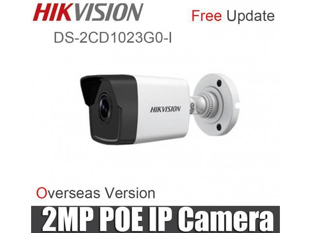 Hikvision 2MP DS-2CD1023G0-I IR Network Bullet Camera POE H 265 1080P IR30m  IP67 IP Camera Night Vision Replace DS-2CD1021-I (4mm lens) - Newegg com