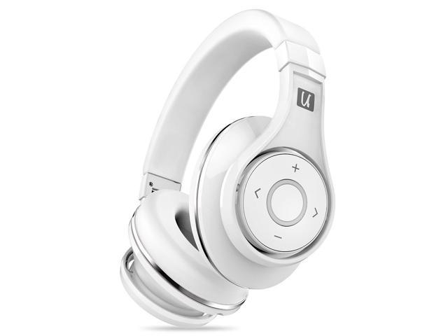 Bluedio U Ufo Bluetooth Headphone 3d Bass Stereo Hifi Over Ear Wireless Headset With Microphone For Iphone Xiaomi Huawei Android With Carrying Hard Case Gift Package White Newegg Com