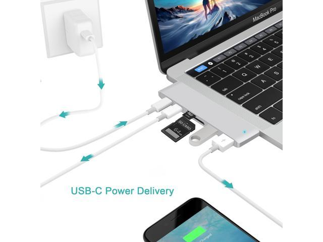 """Compatible for MacBook Pro 13/"""" 15/"""" Adapter USB C Adapter Apple 2016//2017//2018"""