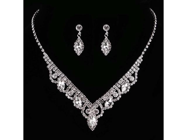 Kalaixing Pearl Necklace Bride Diamond