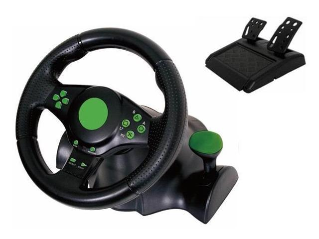Kabalo Gaming Vition Racing Steering Wheel (23cm) and Pedals for XBOX on
