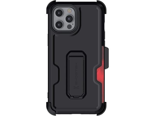 Protective Slim Clear Back Cover with Holster Encased iPhone 12 Pro Max Belt Clip Case 2020