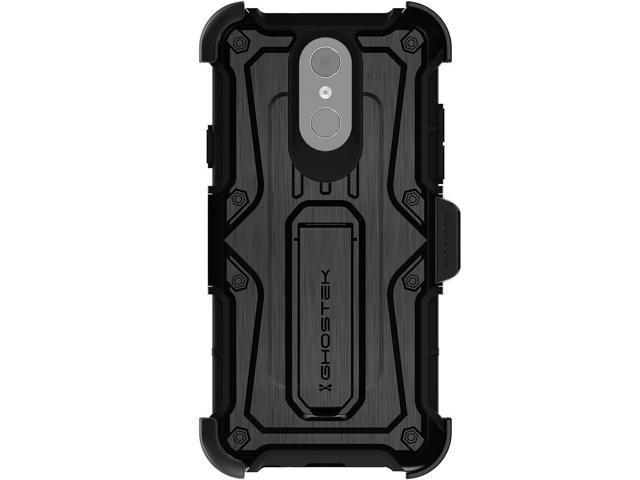 Ghostek Iron Armor Shockproof Rugged Case with Holster Designed for LG Q7 /  Q7+ Plus – Black - Newegg com
