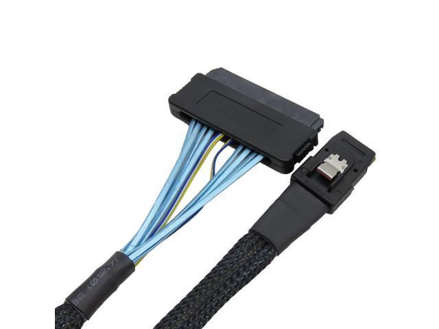 Mini SAS 4i SFF-8484 SAS 32P host to SFF-8087 36P target internal Cable 100cm