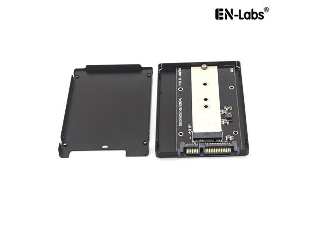 External Adapter 2.5 Inch SATA to M2 NGFF SSD Enclosure Converter Internal