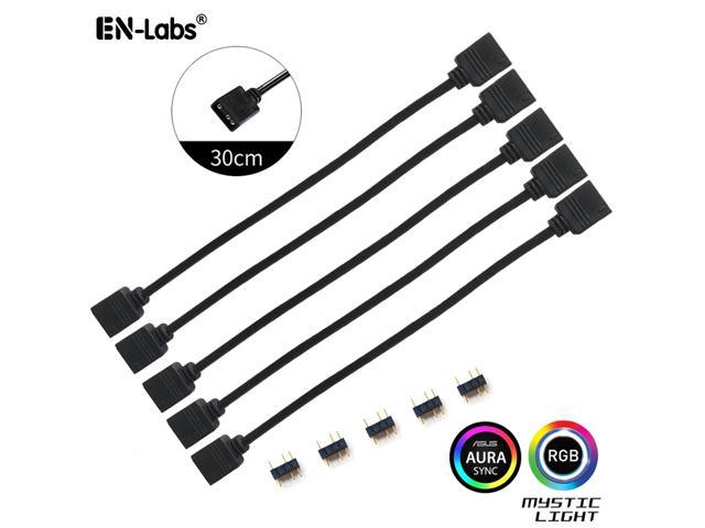 USB A male to Fan 2-Pin//3-Pin 3pin //4-Pin 4pin Adapter Cable for 5V PoES PL