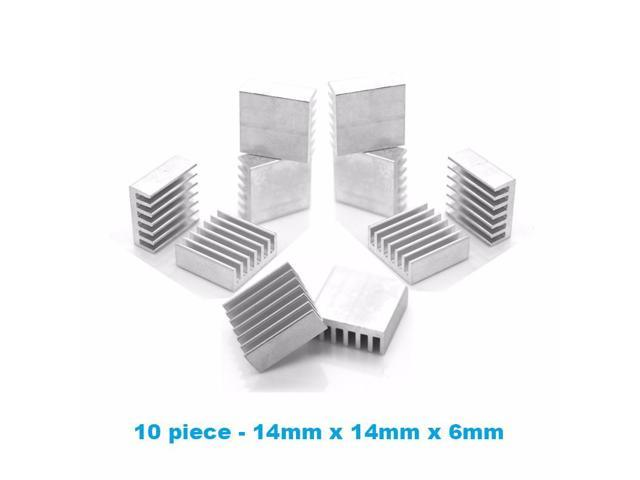 Rarido En-Labs 1Set//33pcs Aluminum Heat Sink Radiator Heatsink Cooler Kit for GPU Graphics Card,VGA Video Card Heat Dissipation Blade Color: No Tape