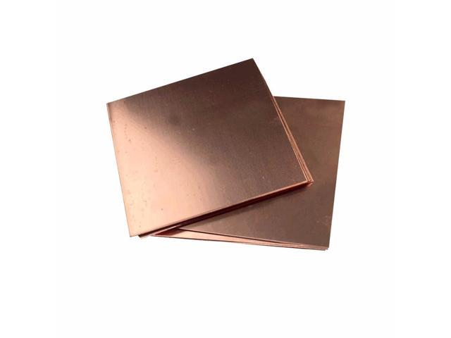 Spacer Heat Sink DIY Material Copper Slats YANGDONG 1 Piece 99.9/% Pure Copper Board Size : 1.0 200 200mm for Moulded GPU CPU VGA Chip RAM Cooling