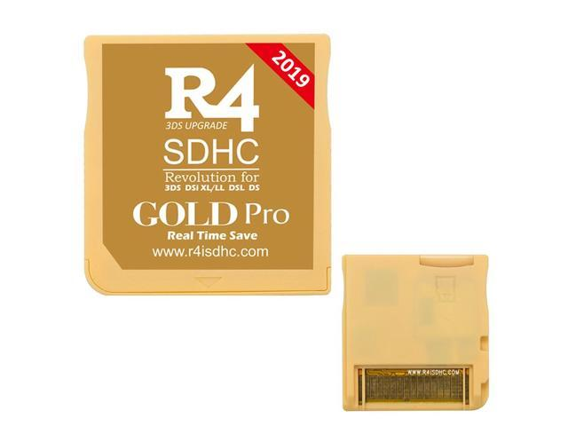 2019 R4 R4i Gold Pro Dual Core Flash Card Adapter for Nintendo DS 2DS New  3DS XL V1 0-11 9 - Gold - Newegg com