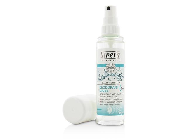 Lavera - 24h Basis Sensitiv Deodorant Spray 75ml/2 5oz - Newegg com