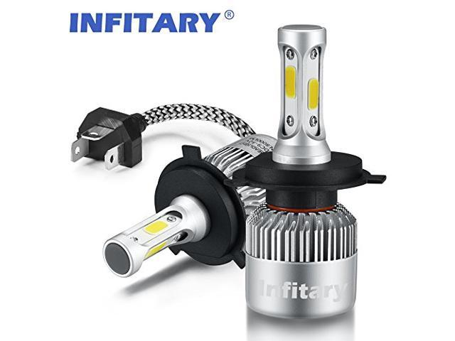 H4 9003 HB2 Motorcycle Headlight LED Bulb HID White 360° Hi//Lo Beam Super Bright