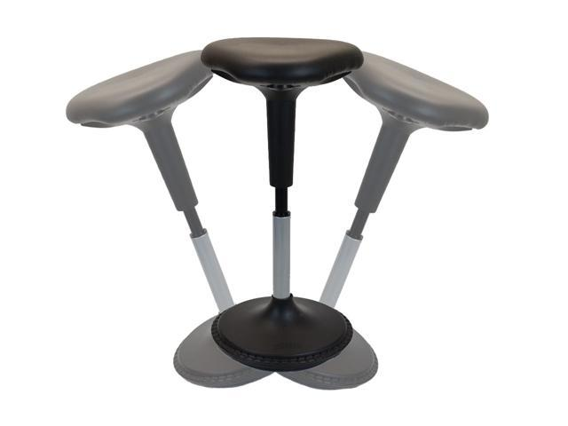 Awesome Wobble Stool Standing Desk Balance Chair For Active Sitting Tall Ergonomic Adjustable Height Swiveling Leaning Perch Perching Ergonomic Sit Stand Pabps2019 Chair Design Images Pabps2019Com