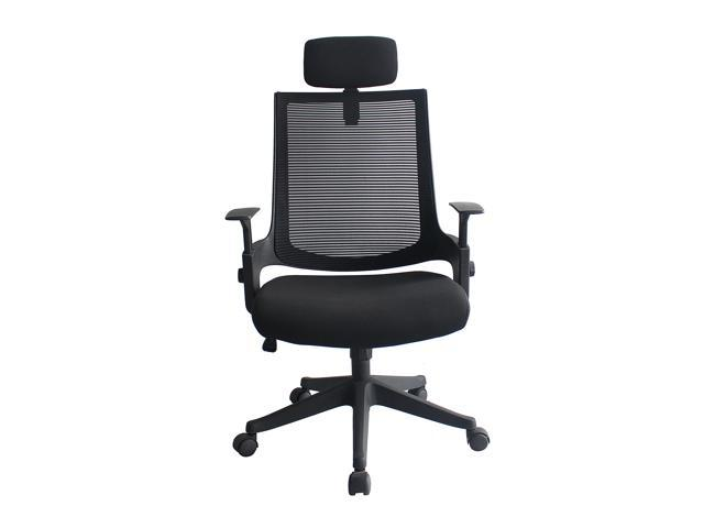 Outstanding Heonsit Ergonomic Office Chair High Back Mesh Chair With Adjustable Headrest And Armrests Tilt Lock Lumbar Support Mesh Desk Executive Office Chair Dailytribune Chair Design For Home Dailytribuneorg
