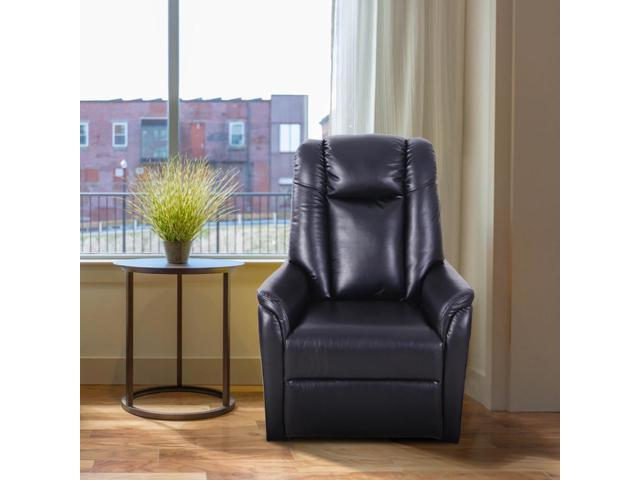 Groovy 360 Swivel Recliner Recliner Chair Pu Leather Single Dailytribune Chair Design For Home Dailytribuneorg