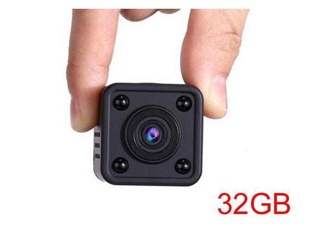 32GB WiFi IP Camera 720P HD Wireless Mini Spy Cameras Indoor Outdoor Mini  DV Night Vision Hidden Video Recorder Home Security Surveillance Cam Q9 -