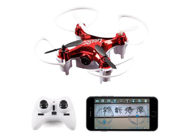 Newest LiDi RC L7HW High Hold Mode(Update L7W)2 4GHZ 6 Axis Mini Wifi FPV  360 Flip RC Quadcopter, With 0 3MP HD Camera Headless RTF Drone